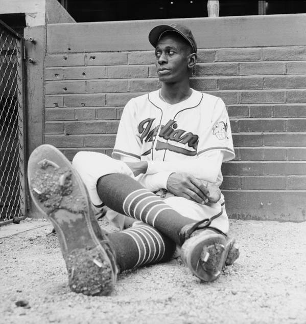 Timeincown Poster featuring the photograph Satchel Paige by George Silk