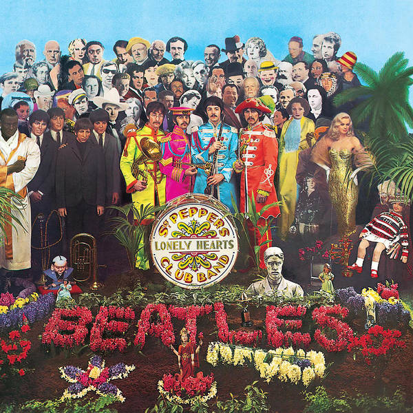 The Beatles Poster featuring the digital art Sgt. Pepper's Lonely Hearts Club Band by The Beatles by Music N Film Prints