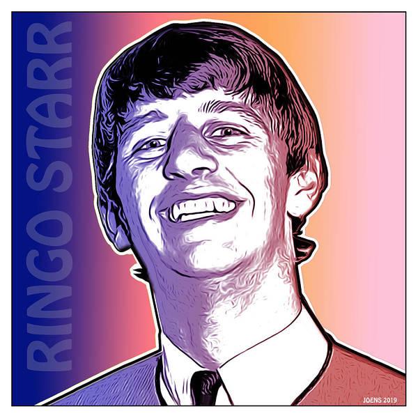 Pop Art Poster featuring the drawing Sir Richard by Greg Joens