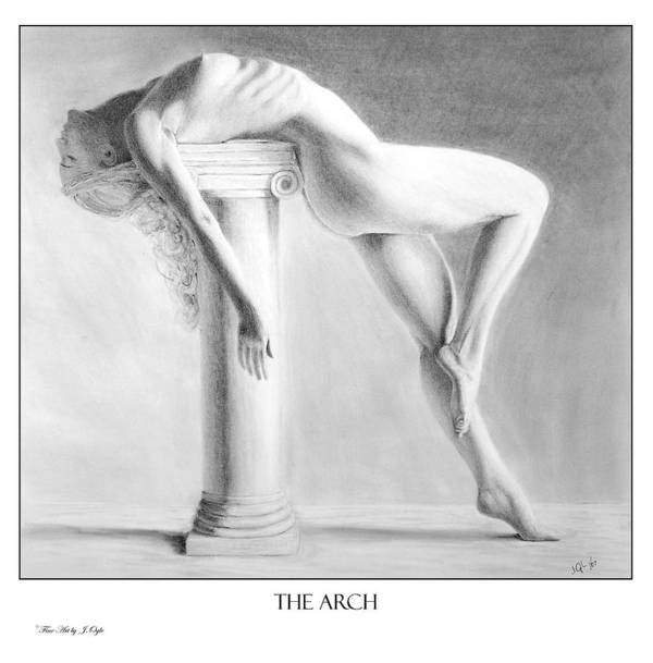 Print Poster featuring the painting The Arch print only by Joseph Ogle