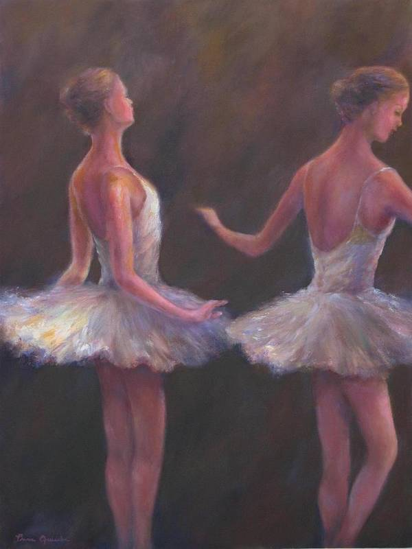 Ballet Poster featuring the painting Of Which Each Movement by Bonnie Goedecke