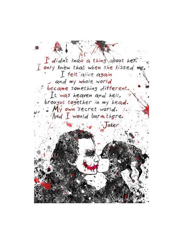 Harley Quinn and Joker by Rosalis Art
