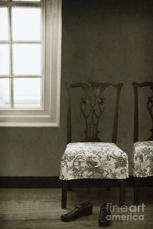 Chairs Poster featuring the photograph By The Window by Margie Hurwich