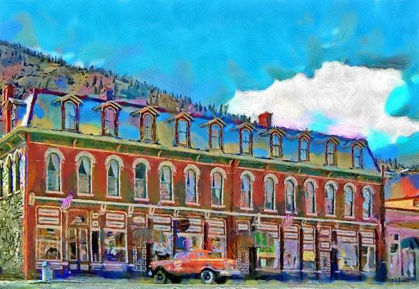 Shop Poster featuring the painting Grand Imperial Hotel by Jeff Kolker