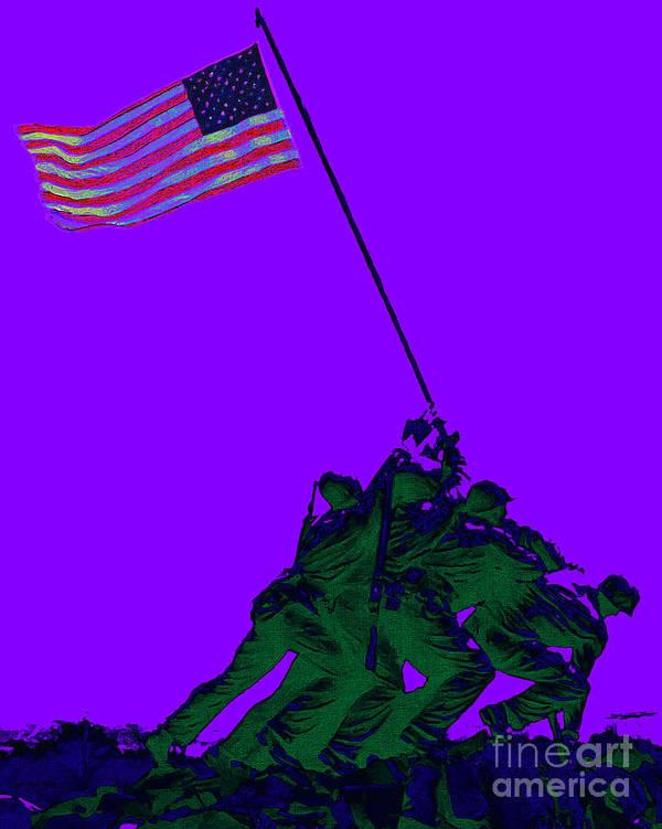 Iwo Jima Poster featuring the photograph Iwo Jima 20130210m28 by Wingsdomain Art and Photography