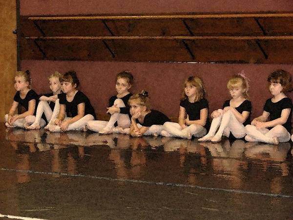 Ballet Poster featuring the photograph Tiny Dancers by Patricia Rufo