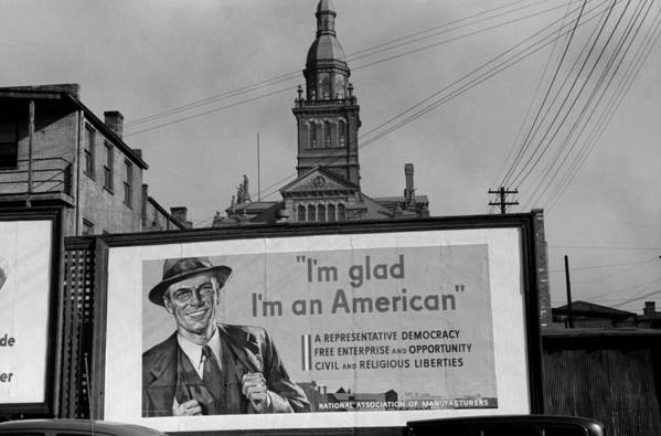 History Poster featuring the photograph Corporate Resistance To Fdrs New Deal by Everett