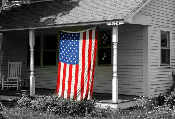 American Poster featuring the photograph The Colors Of Freedom by Linda Galok