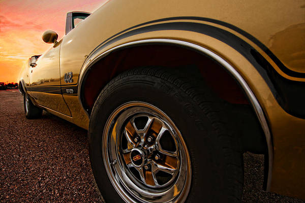 Oldsmobile Poster featuring the photograph 1970 Oldsmobile Cutlass 4-4-2 W-30 by Gordon Dean II