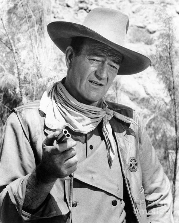 20th Century Poster featuring the photograph John Wayne (1907-1979) by Granger