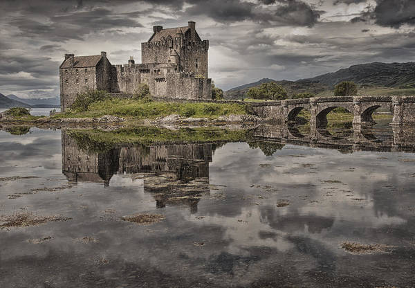 Scotland Poster featuring the photograph Eilean Donan Castle 3 by Wade Aiken