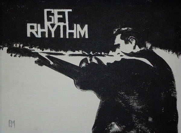 Get Rhythm Poster by Pete Maier