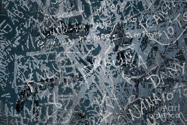 Abstract Poster featuring the photograph Grunge Background I by Carlos Caetano