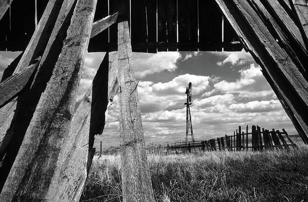 Alberta Poster featuring the photograph Homestead by Bob Christopher