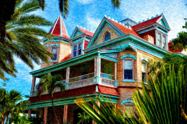 Key West Southern Most Hotel Poster featuring the photograph Key West Southern Most Hotel by Bill Cannon