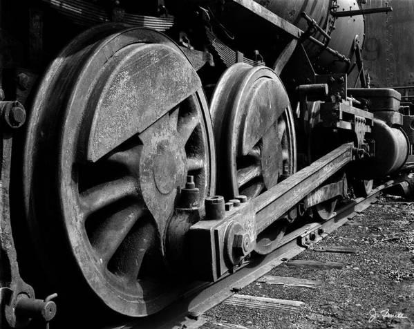Train Poster featuring the photograph Locomotive by Joe Bonita