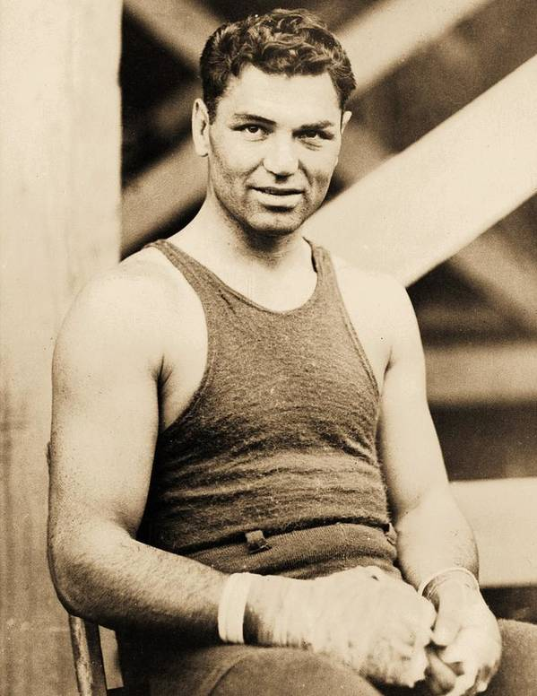 Reproduction Poster featuring the photograph Manassa Mauler by Pg Reproductions