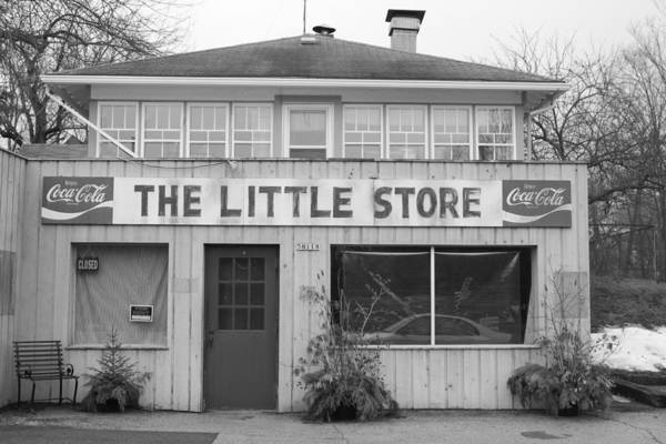 Store Poster featuring the photograph The Little Store by Lauri Novak
