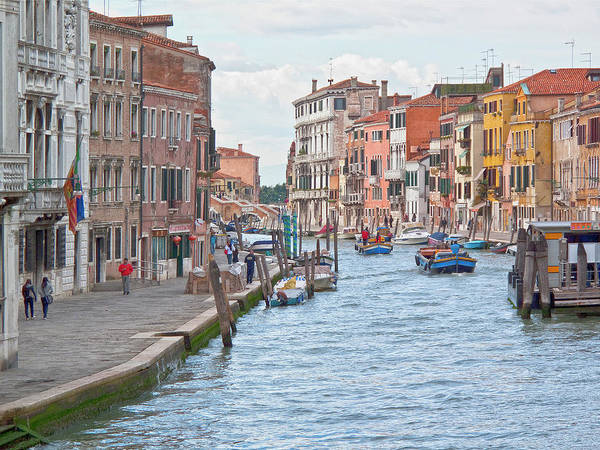 Venice Poster featuring the photograph Venice In Pastel by Heiko Koehrer-Wagner