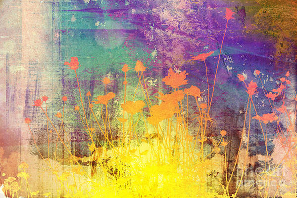 Forest Art Print featuring the photograph Flower Abstract Textures And Backgrounds by Ilolab