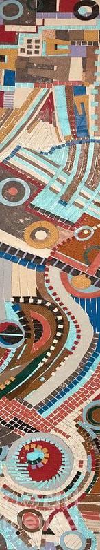 Www.artworkxofmann.com Art Print featuring the mixed media Barca by Annette Gardiner