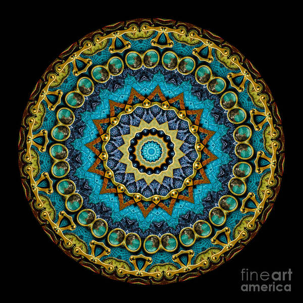 Fantasy Art Print featuring the photograph Kaleidoscope Steampunk Series by Amy Cicconi