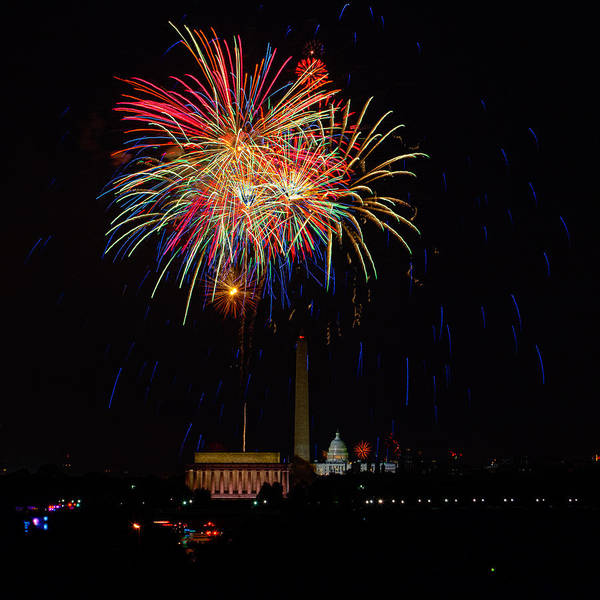 4th Of July Art Print featuring the photograph Independence Day In Dc 2 by David Hahn