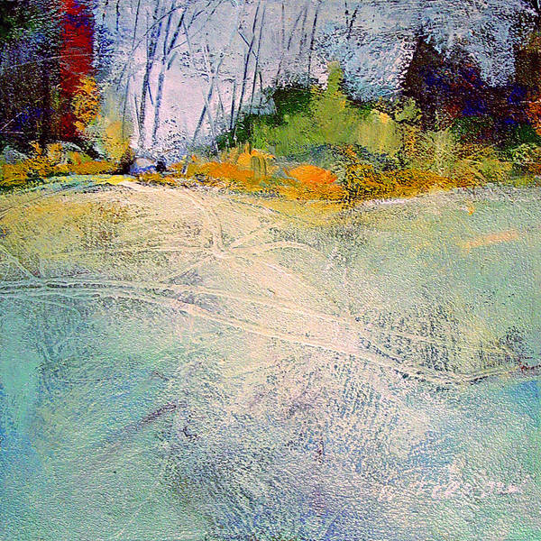 Landscape Art Print featuring the painting First Frost by Dale Witherow