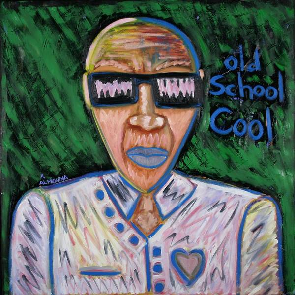 Old School Art Print featuring the painting Old School Cool by Albert Almondia
