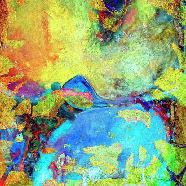 Abstract Art Print featuring the painting Birdland by Dominic Piperata