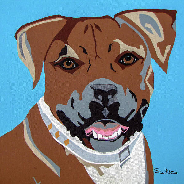 Boxer Art Print featuring the painting Boxer by Slade Roberts