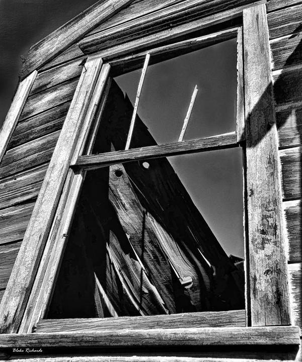 Art Print featuring the photograph Window But No Roof by Blake Richards