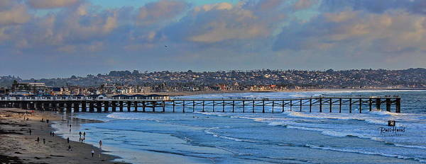 Crystal Pier Pacific Beach by Russ Harris