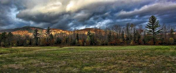 Art Print featuring the photograph Autumn -- Foothills - Maine by Thomas J Martin