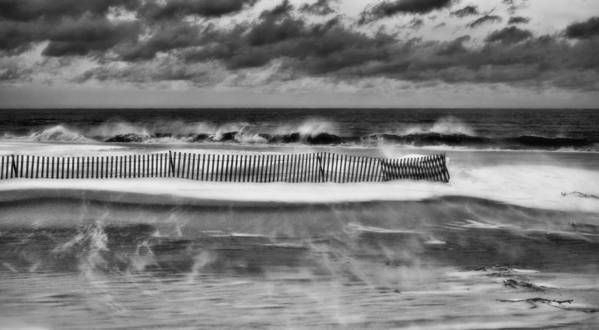 Winter Storm Nemo Art Print featuring the photograph Winter On Long Island by JC Findley