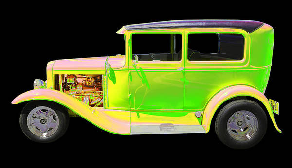 1930 Ford Model A Art Print featuring the photograph Ford by Allan Price