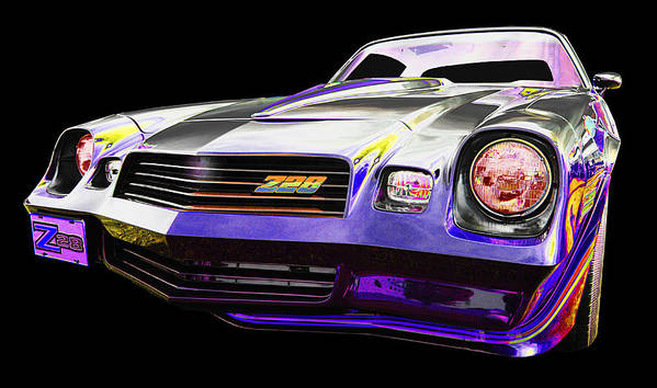 1980 Z 28 Camaro Art Print featuring the photograph Chevy by Allan Price