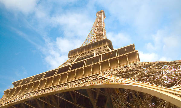 Eiffel Tower Art Print featuring the photograph Eiffel Tower by Mick Burkey