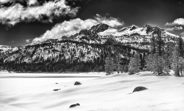 Landscape Art Print featuring the photograph Caples Lake by A A