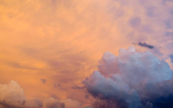 Sky Art Print featuring the photograph Sky Fire 003 by Tony Grider