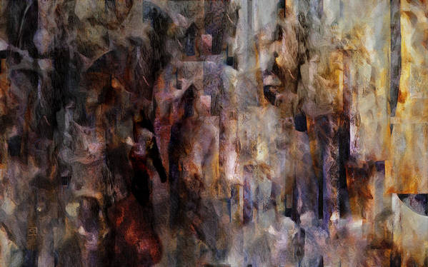 Its Complicated Art Print featuring the painting Its Complicated by Jean Moore