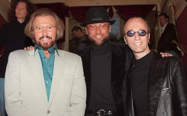 Jez C Self Art Print featuring the photograph Bee Gees by Jez C Self
