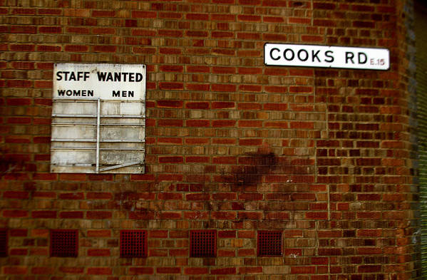 Jez C Self Art Print featuring the photograph Cooks Wanted by Jez C Self
