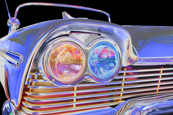 1958 Plymouth Fury Art Print featuring the photograph Plymouth by Allan Price
