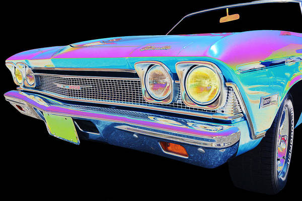 1968 Chevy Chevelle Art Print featuring the photograph Chevy by Allan Price