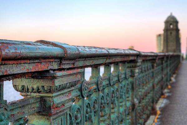 Longfellow Bridge Art Print featuring the photograph Across The Charles by JC Findley