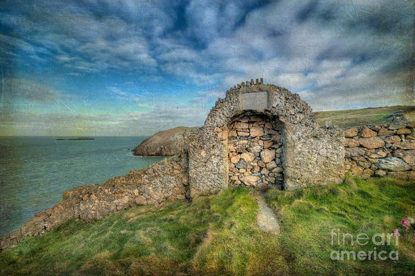Anglesey Art Print featuring the photograph Consecrated 1535 by Adrian Evans
