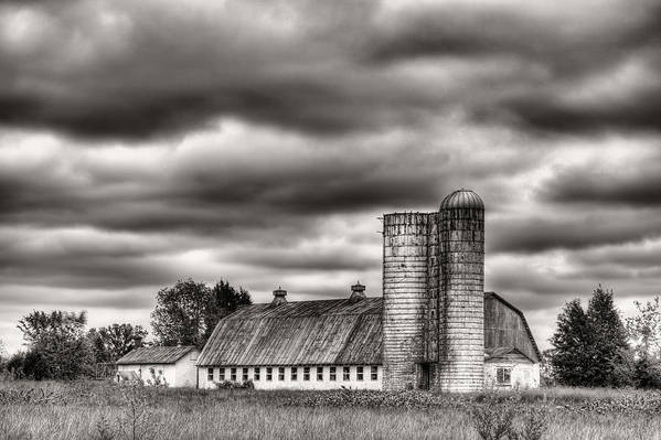Dramatic Skies Print featuring the photograph Dramatic Skies by JC Findley
