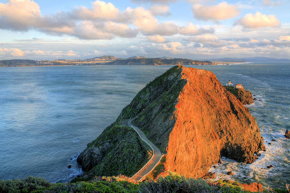 Bonita Point Art Print featuring the photograph Gibraltar by JC Findley