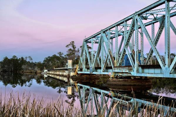 Milton Art Print featuring the photograph Moonrise Over Milton by JC Findley